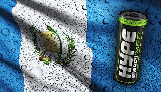 La familia Hype Energy sigue creciendo, ¡demos la bienvenida a Guatemala!